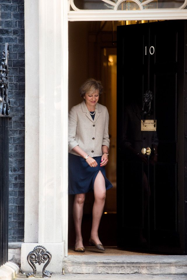 Theresa May...hardly appropriate for a PM