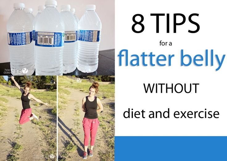 tips for a flat belly