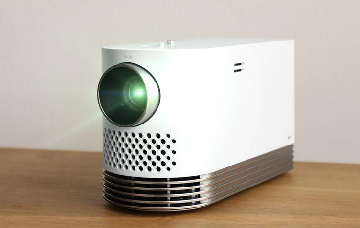LG dévoile le ProBeam, un projecteur laser miniature