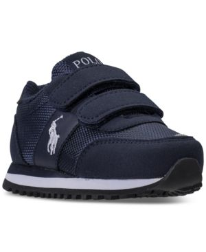 Polo Ralph Lauren Little Boys' Zaton Casual Sneakers from Finish Line - NAVY 2.5