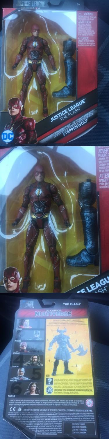Games 145978: New Justice League Dc Multiverse The Flash 6 Figure In Hand W Steppenwolf Baf -> BUY IT NOW ONLY: $37.99 on eBay!