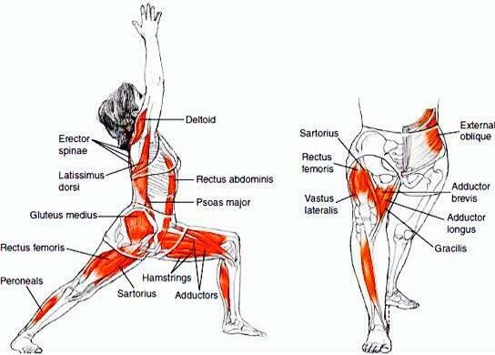 Yoga streching