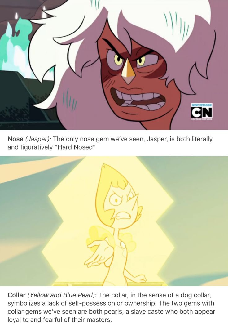 Chest and collar are different btw. Chests have the gem right over their heart, making them emotional and angered easily