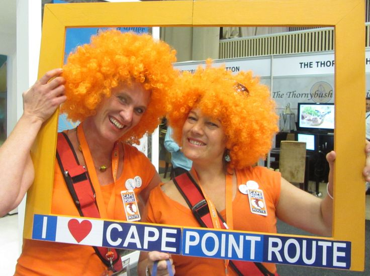 Barbara and Sally at Tourism Indaba 2013 in Durban.   http://www.capepointroute.co.za/aboutus.php