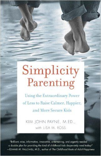 Simplicity Parenting- A book review from Undercover Mama.  Find out why this is one of our favorite parenting books.