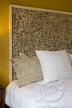 stone headboard | Stone headboard of bed | Stock Photo 4053-2429 :  Superstock