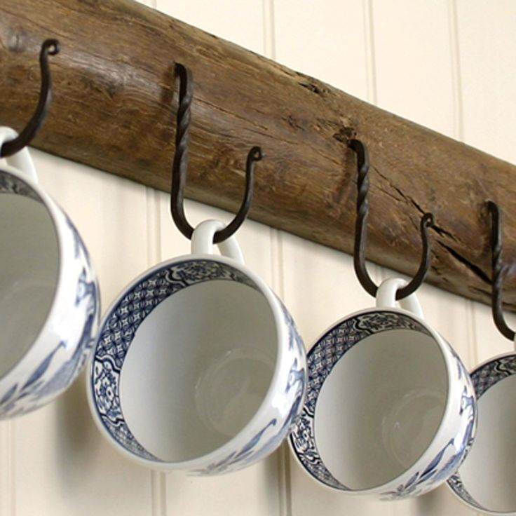 Wrought Iron Cup Hooks from £2.25 each