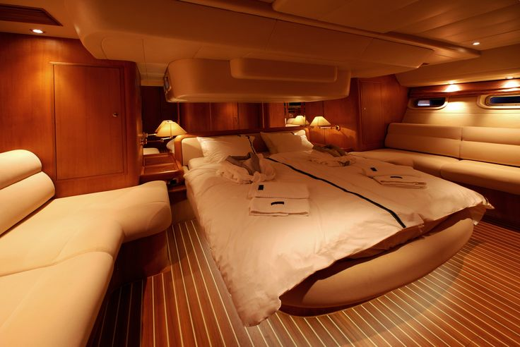 Dibley designed Commander 66 Cruising Yacht. Owners Cabin