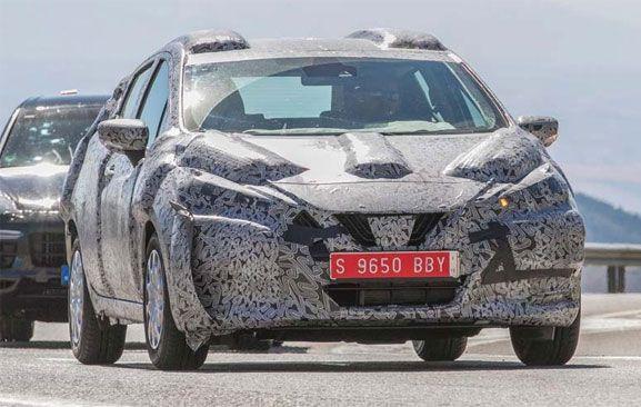 Next Gen Nissan Micra Spied On Test In France