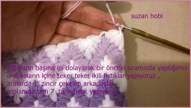 Sóng mẫu crochet, lớp thạc sĩ video. Thảo luận về LiveInternet - Dịch vụ Nga Diaries online