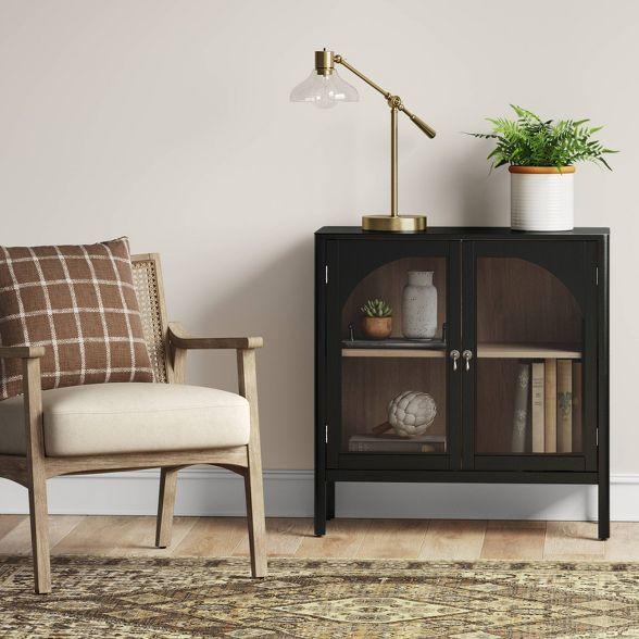 New Bedford 2 Door Accent Cabinet Black Threshold Accent Doors Accent Cabinet Barrel Chair