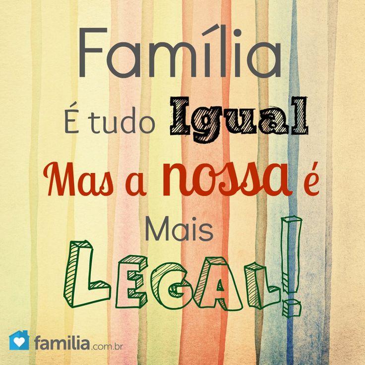 Nossa Família é mais Legal! Mais