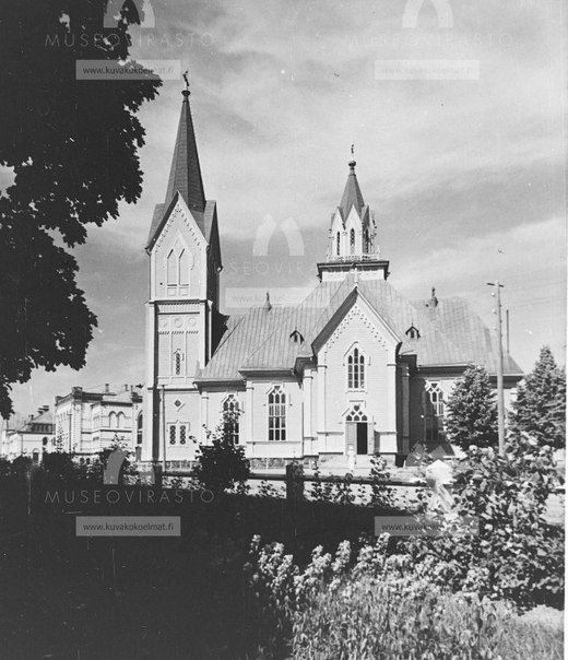 Vuonna 1801 valmistunut Sortavalan luterilainen kirkko. 1930-luku