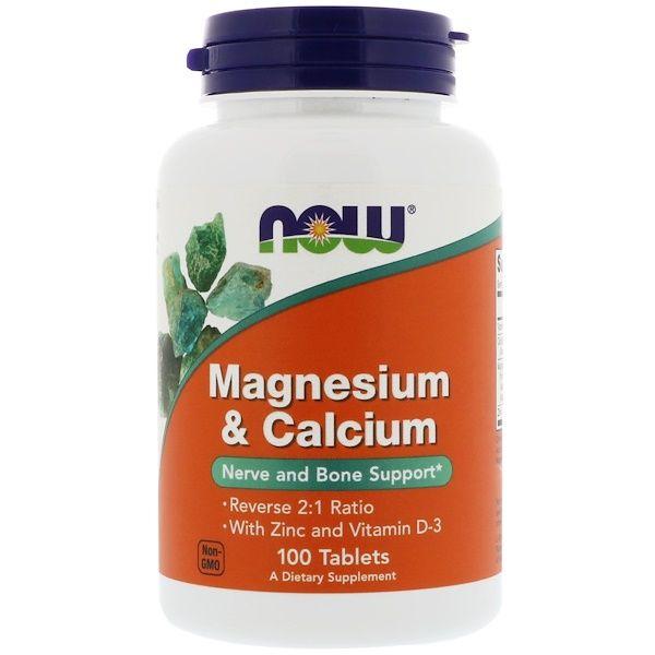 Now Foods Magnesium Calcium 100 Tablets Now Foods Magnesium Vitamin D
