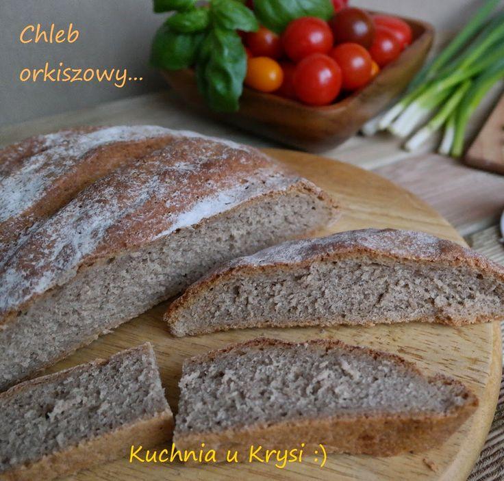 Kuchnia u Krysi  : Chleb z mąki orkiszowej na zakwasie