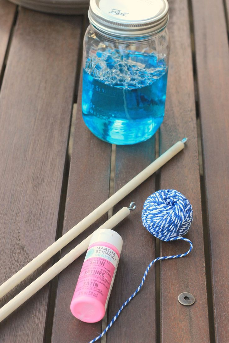 How To Make A Giant Bubble Wand With Images Giant Bubble Wands