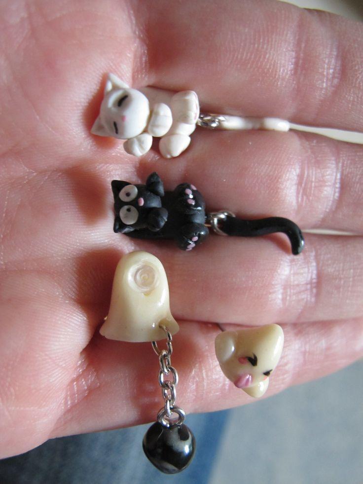 Boucles d'oreilles originales à faire en pâte fimo | Bijoux sucrés, Bijoux fantaisie, Bijoux gourmands, Pâte Fimo, Nail Art et Miniatures gourmandes