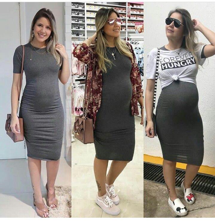 ce77f1827c314b Look inspiração gravidinha #gestante #grávida #maternity #babybump ...