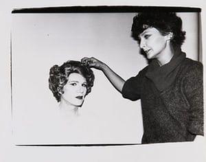 Warhol Photography: Andy Warhol in Drag, 1980