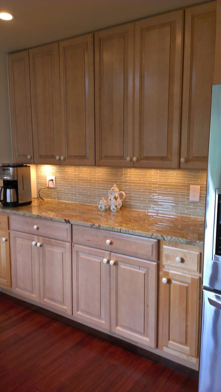 Kitchen Tile Design and Countertop by one our talented designers Andrea Quiroga