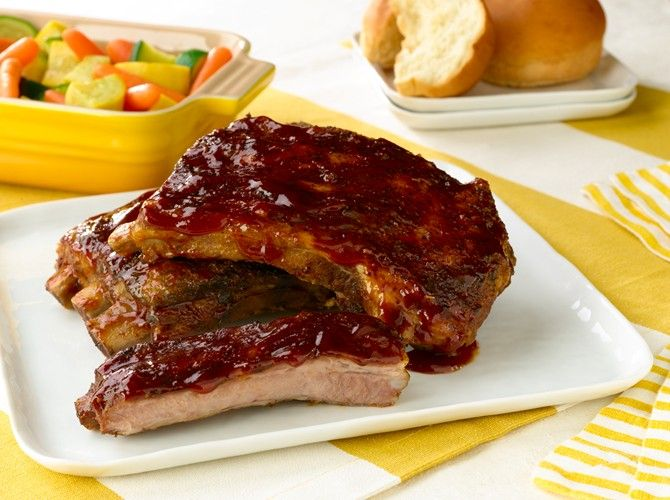 Slow-Cooked St. Louis Barbecued Ribs Recipe on Yummly. @yummly #recipe