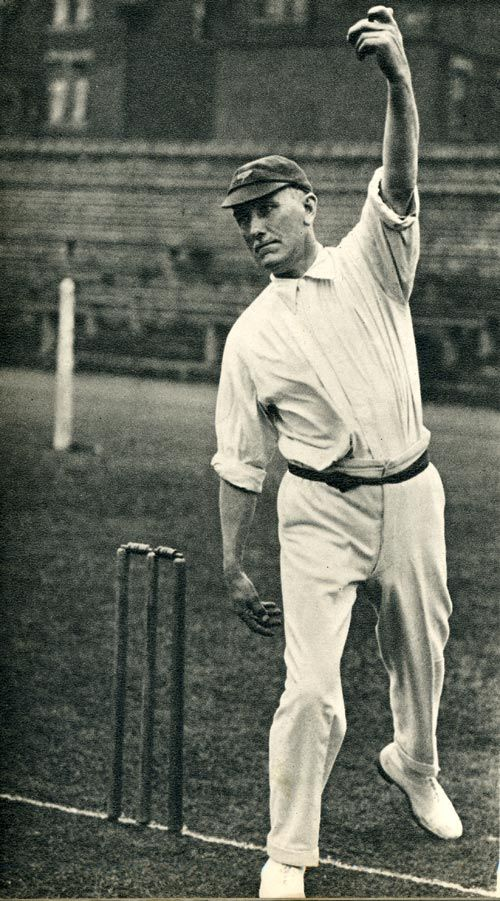 Wilfred Rhodes (England.) He was the oldest man to play Test Cricket.