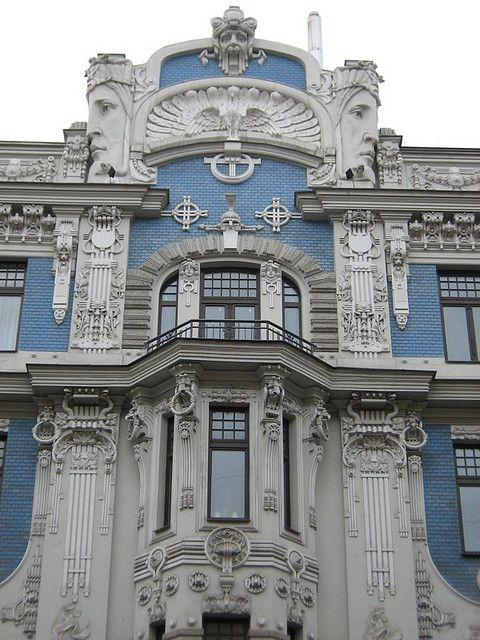 30 best architektur jugendstil images on pinterest for Architektur jugendstil