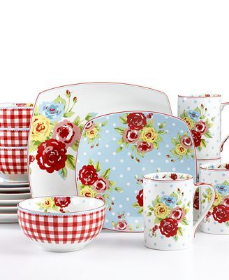 vintage inspired dishes!