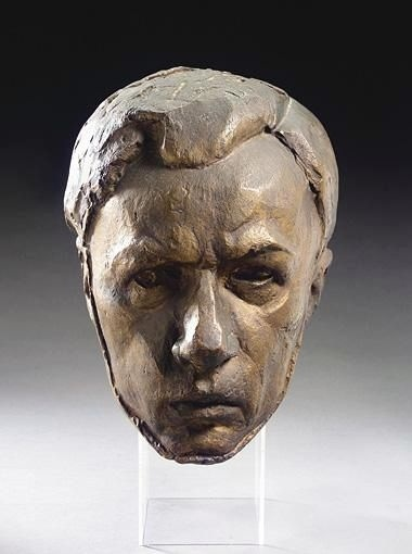 Ossip Zadkine, PORTRAIT HEAD OF THE ARTIST YURI PAVLOVICH ANNENKOV, AGED 22