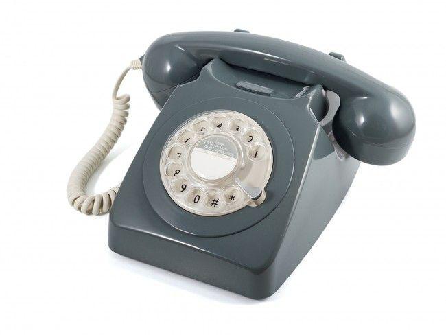GPO 746 Draaischijf Grijs - Telefonie - 123platenspeler.nl