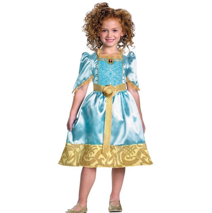 Kinder kostuum prinses Merida