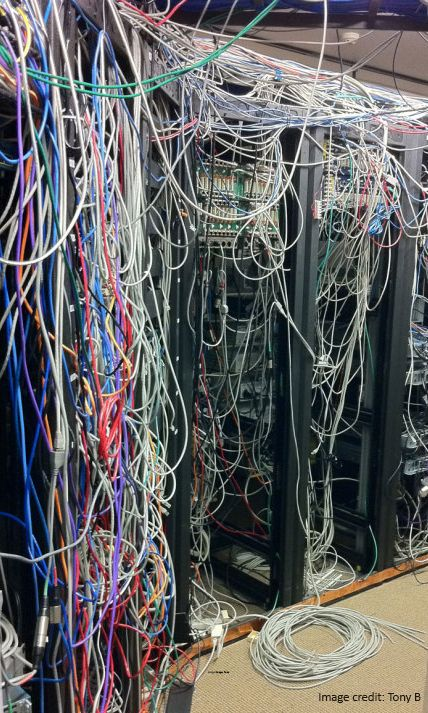 65 best Wiring Disasters images on Pinterest | Cable management ...