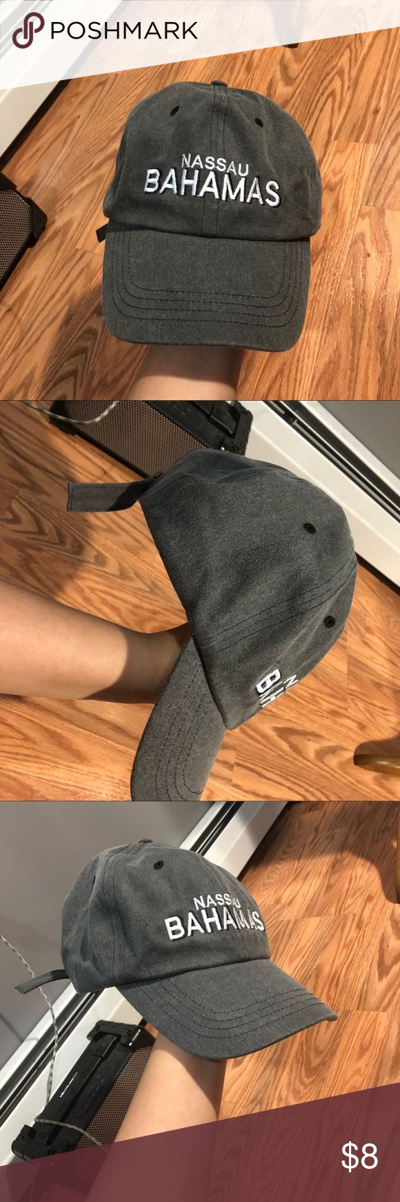 New Bahamas fitted baseball cap NO TRADES! •not brandy Melville; used for exposure; inspired by/lookalike  •perfect condition! Never worn or even tried on 📦Same or next day shipping!📦 Brandy Melville Accessories Hats