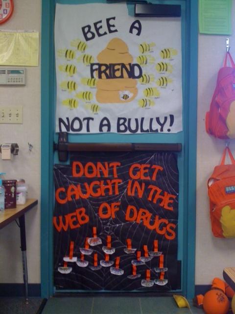 My Classroom Door Red Ribbon Week Anti Bullying Week