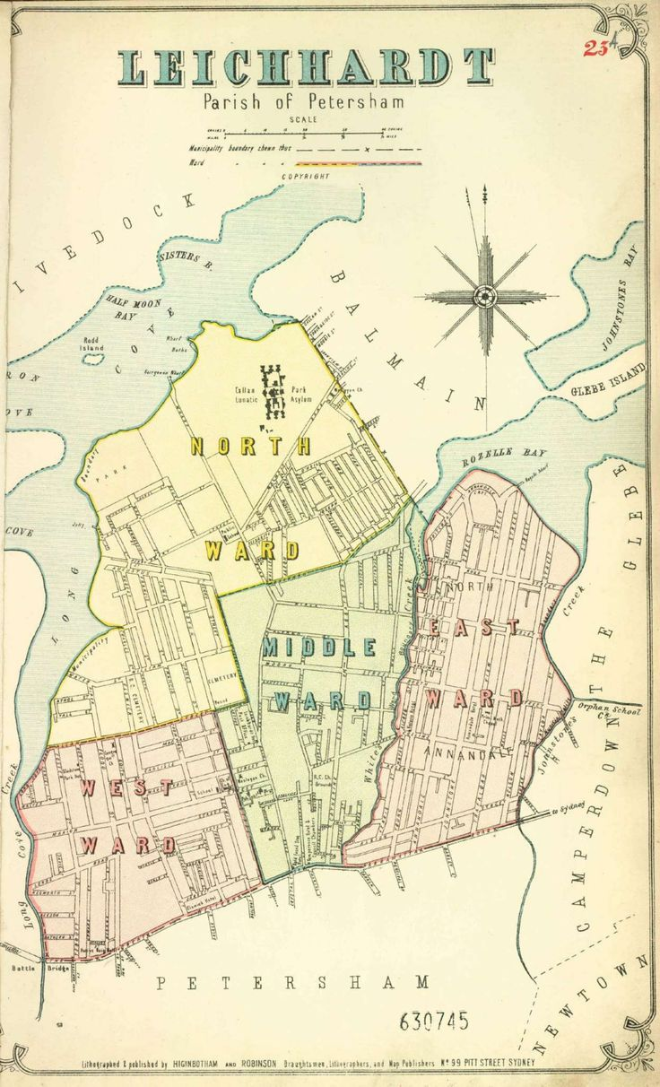 Atlas of the Suburbs of Sydney - Leichhardt A 1886-1888 | The Dictionary of Sydney