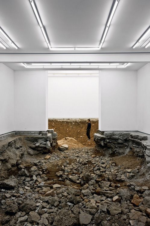 Urs Fischer - You, 2007. Fischer's subversive approach to art is often considered to be influenced by anti-art movements like Neo-Dada, Lost Art, or the Situationist International.