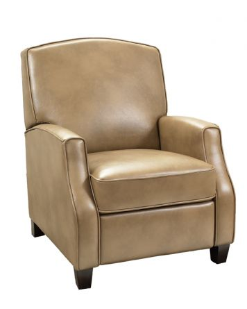 Carrington Low Leg Push Back Recliner in Tan | Barcalounger | Home Gallery Stores $500