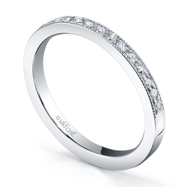 platinum wedding ring with diamonds
