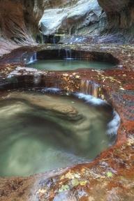 Subway Pools - Zion National Park - Vincent James