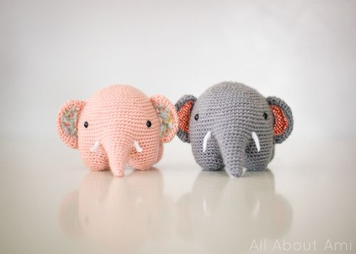 diy crochet elephant Craft Time Pinterest Elephants ...