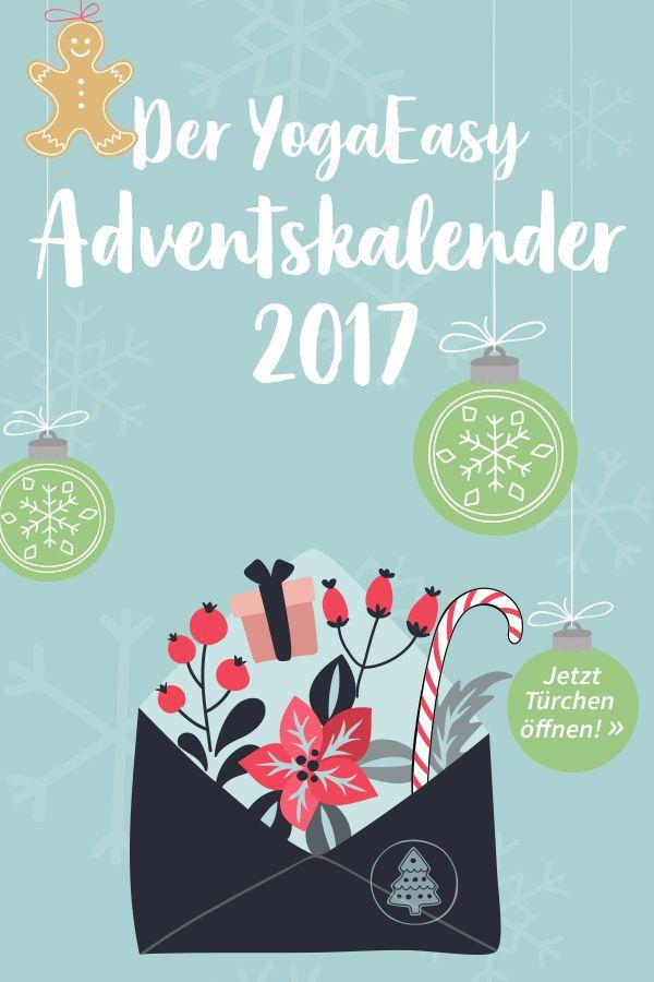 Adventskalender Jeden Tag Eine Von 24 Yogischen Weihnachtsuberraschungen Gewinnen Adventskalender Yoga Adventkalender Adventskalender