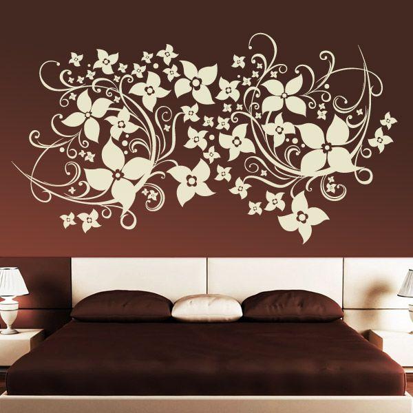 Vinilo floral Magnolia. #decoracion #teleadhesivo