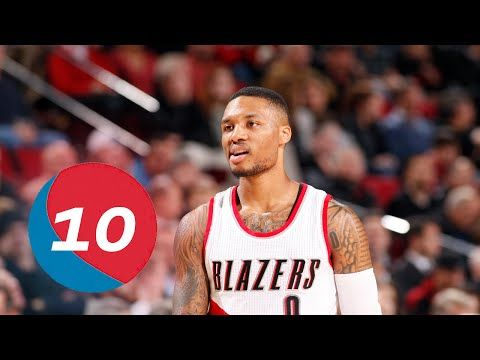Damian Lillard Top 10 Plays of Career - YouTube