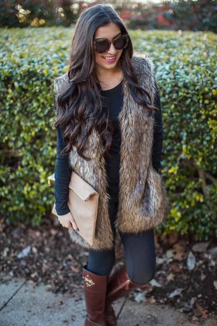 Casual Faux Fur // Pretty Petals
