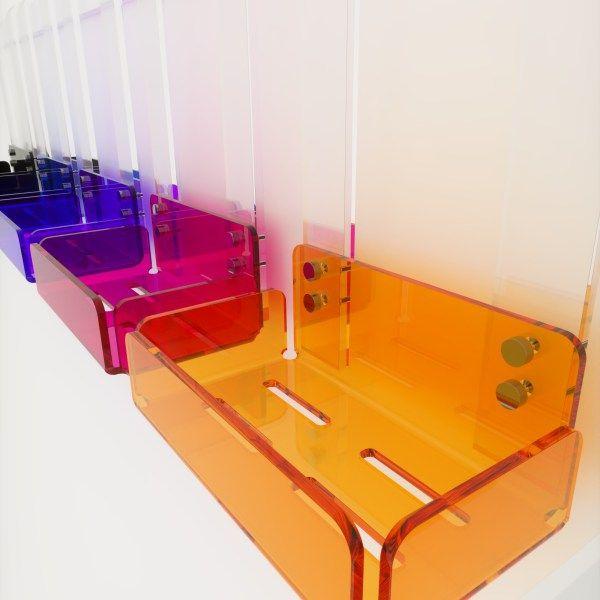 Oltre 25 fantastiche idee su mensole doccia su pinterest stoccaggio doccia piastrelle per - Porta bagnoschiuma per doccia ...