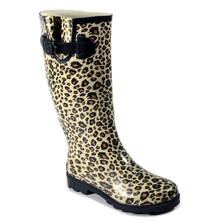 Corkys Sunshine Women's Rain Boots, Size: 11, Beig/Green (Beig/Khaki)