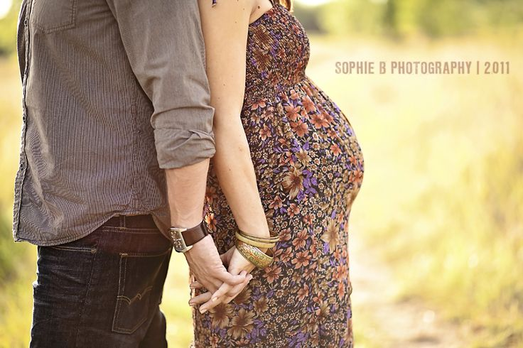 maternity photo, but like as a couple shot as well. Always liked the backwards hand holding. <3