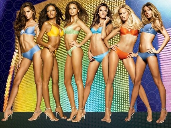 Позы для фотосессии: практические советы для моделей: Модели Victoria's Secret - идеальный пример бельевых моделей | Фотографии