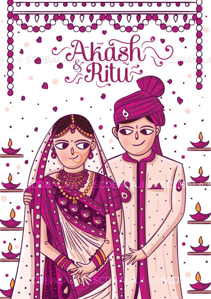 Сайт индийский открыток, свадебные картинки