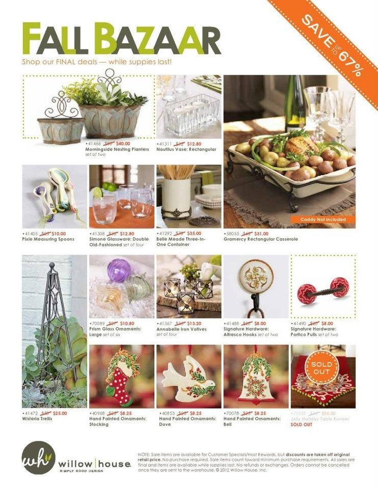 Willow House Is Closing Their Home Decor Division Get The Deals